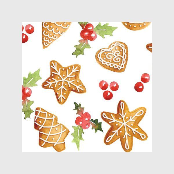 Скатерть «Рождественские имбирные  пряники »