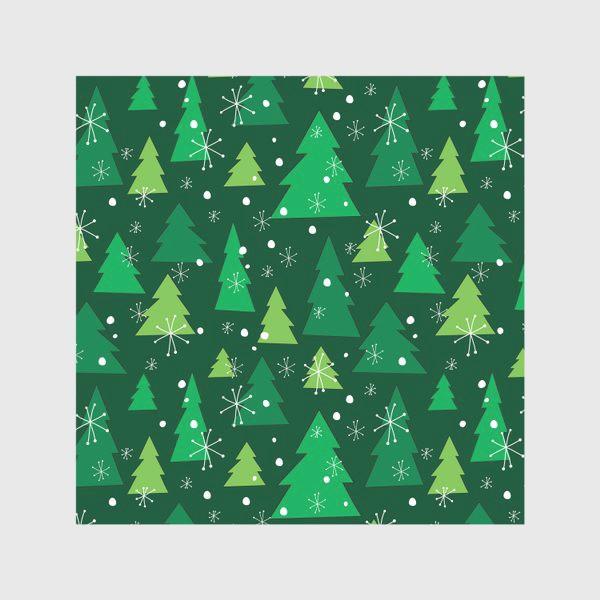 Скатерть «Новогодние елки»