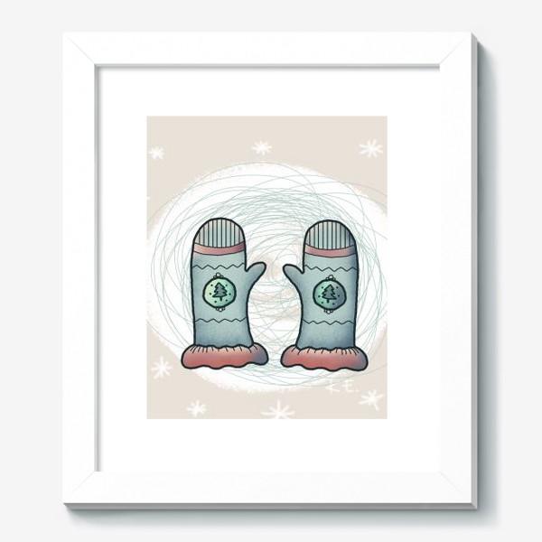 Картина «Варежки»