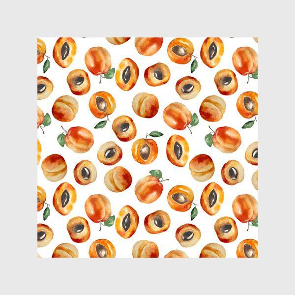 Шторы «Сладкие абрикосы коллаж»