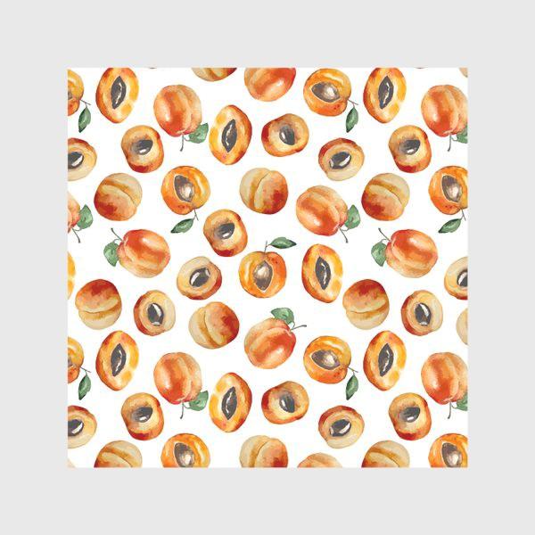 Скатерть «Сладкие абрикосы коллаж»