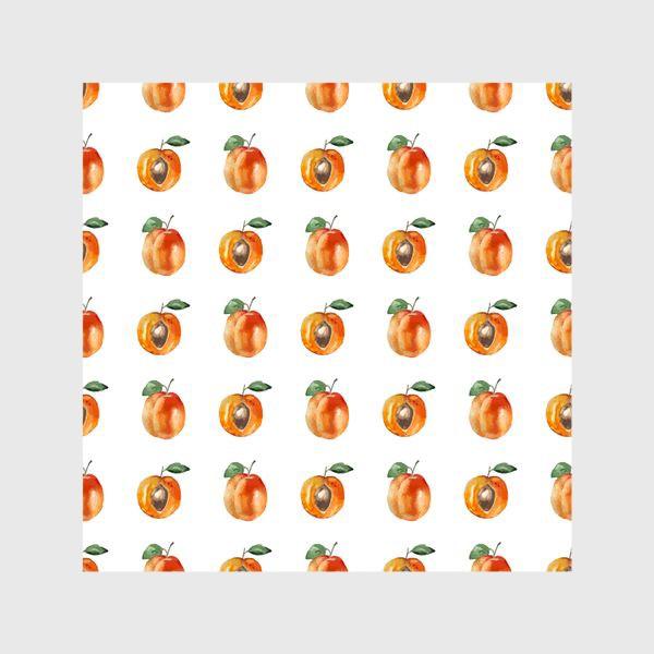 Шторы «Сладкие абрикосы паттерн»