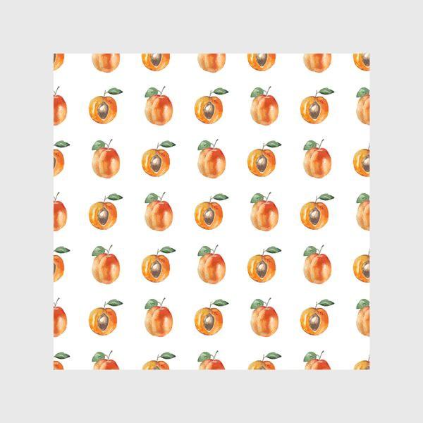 Скатерть «Сладкие абрикосы паттерн»