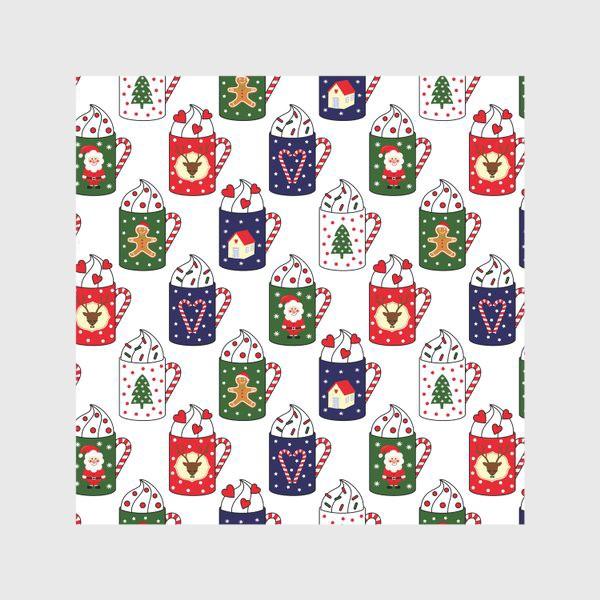 Скатерть «Рождественские кружки»