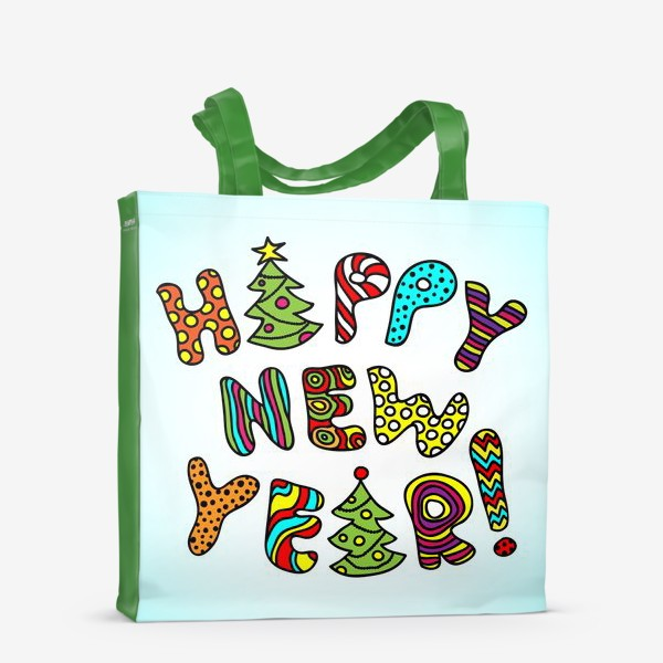 Сумка-шоппер «Happy New Year!»