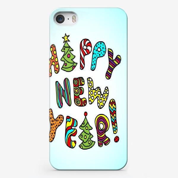 Чехол iPhone «Happy New Year!»