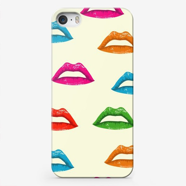 Чехол iPhone «bright lips»