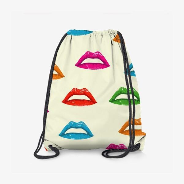 Рюкзак «bright lips»
