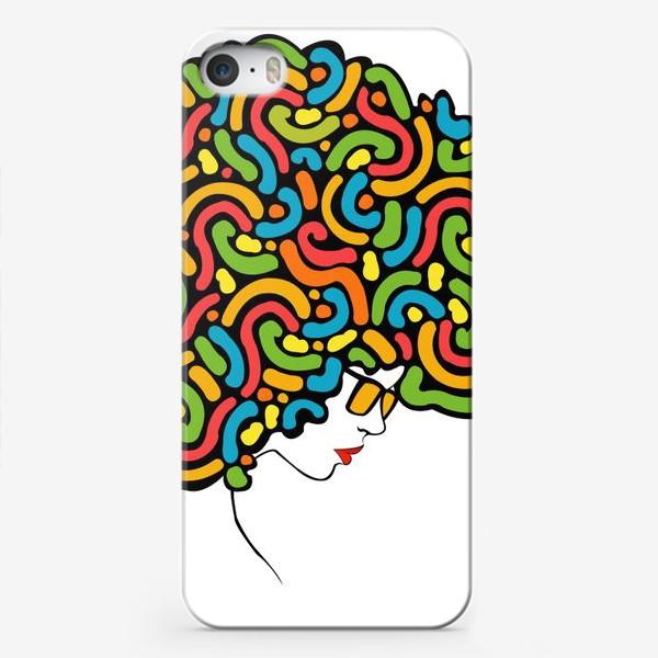 Чехол iPhone «abstraction girl»