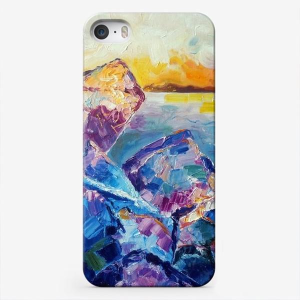 Чехол iPhone «Лёд»