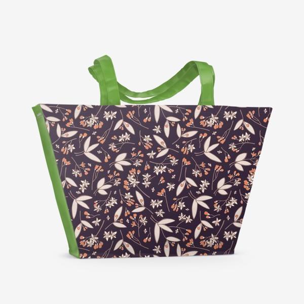 Пляжная сумка «Ночь в саду»