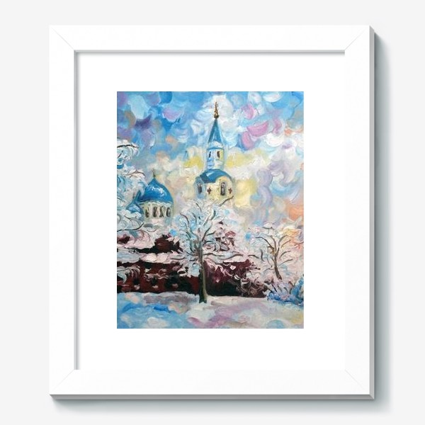 Картина «Зима на Валааме»