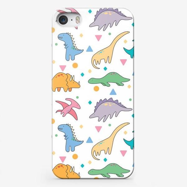 Чехол iPhone «Дино»