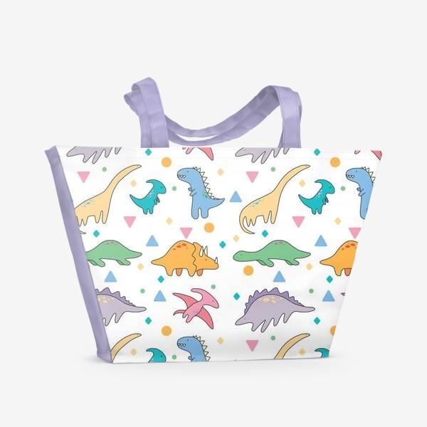 Пляжная сумка «Дино»