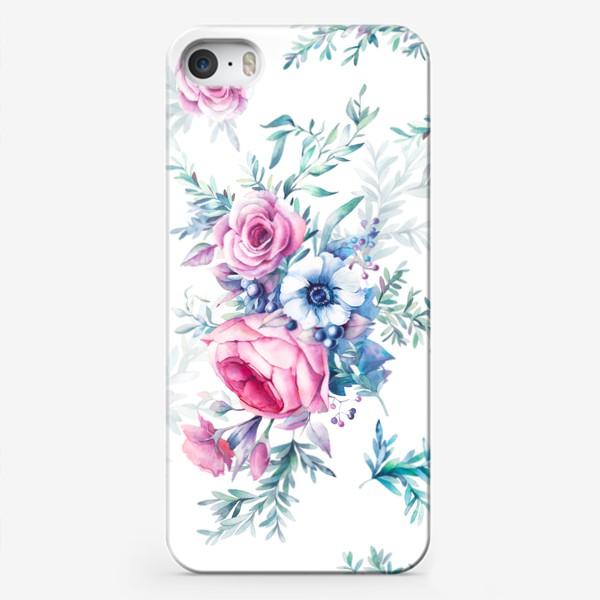 Чехол iPhone «Ботанический паттерн»