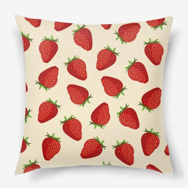 Подушка «strawberry»
