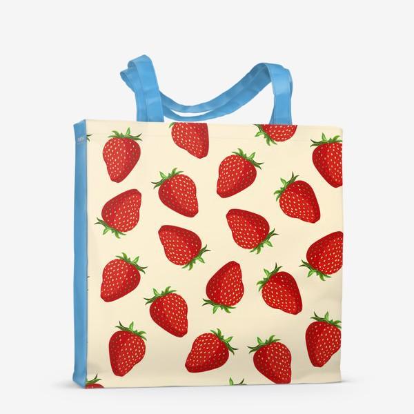 Сумка-шоппер «strawberry»