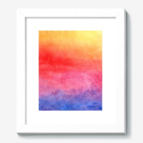 Картина «Яркий закат»