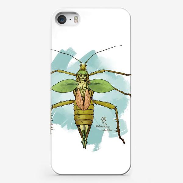 Чехол iPhone «Нимфа джунглей »