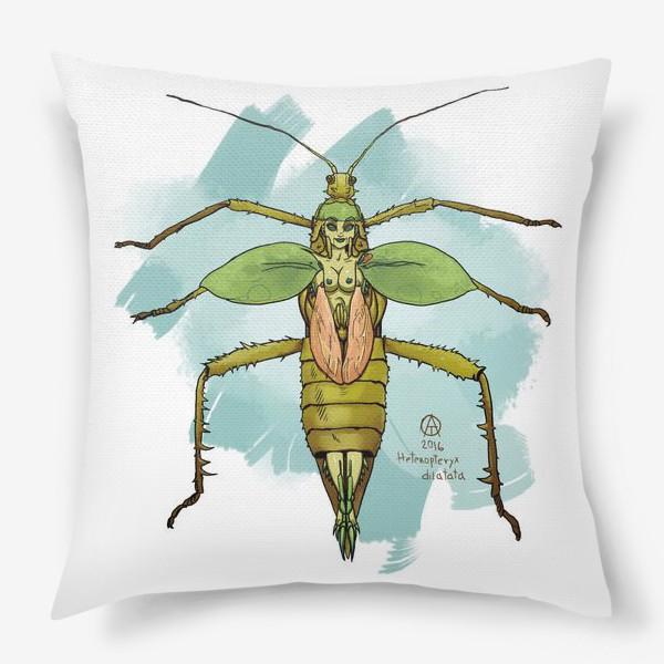 Подушка «Нимфа джунглей »