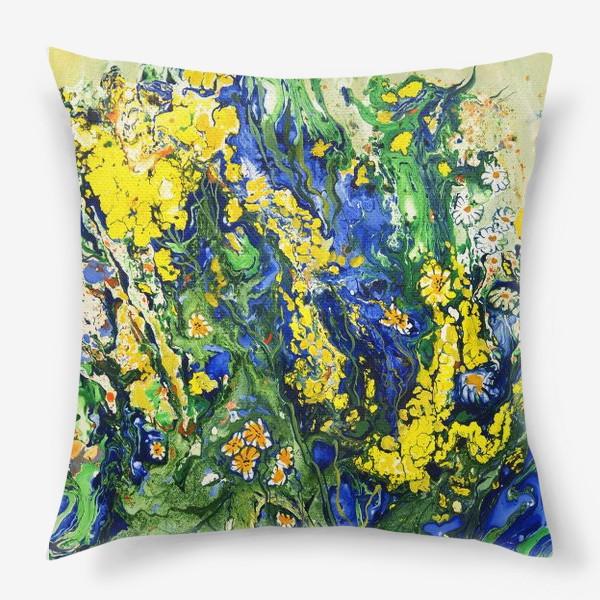 Подушка «Полевые цветы»