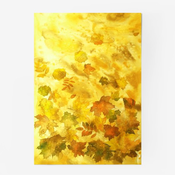 Постер «Тихий листопад»