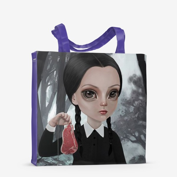 Сумка-шоппер «Wednesday Addams / Уэнзди Аддамс»