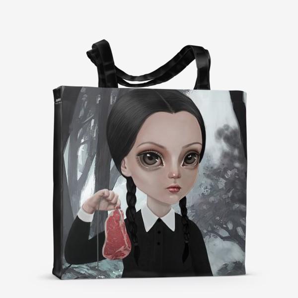 Сумка-шоппер «Wednesday Addams / Уэнзди Аддамс»