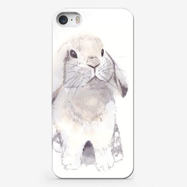 Чехол iPhone «Нежный кролик, зайка»