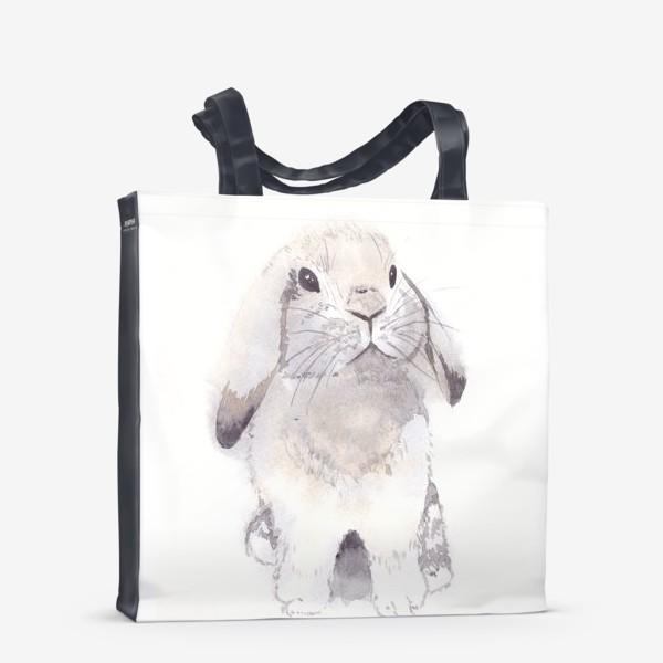 Сумка-шоппер «Нежный кролик, зайка»