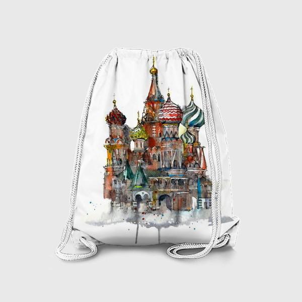 Рюкзак «Храм Василия Блаженного»
