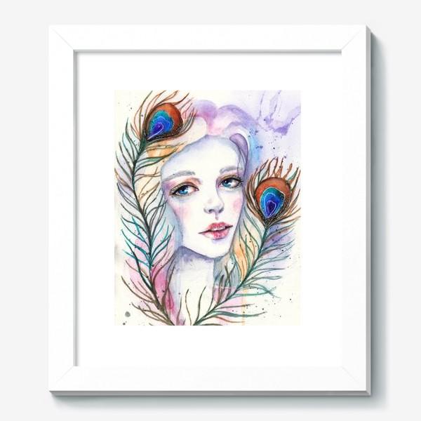 Картина «Девушка-павлин»