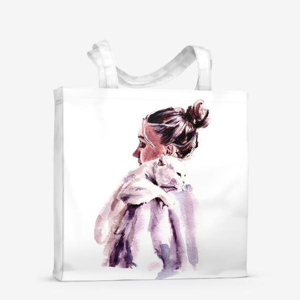 Сумка-шоппер «нежность на плечи»