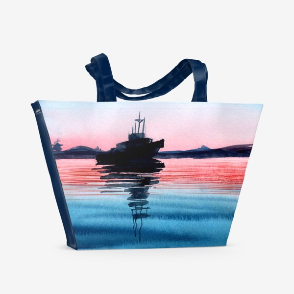 Пляжная сумка «тишина»