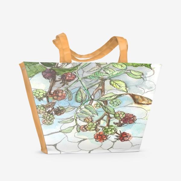 Пляжная сумка «Ежевика»