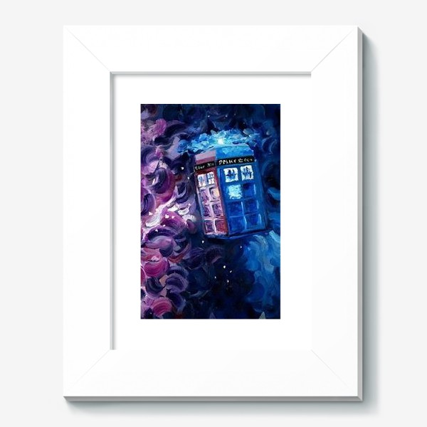 Картина «Doctor WHO, Tardis»