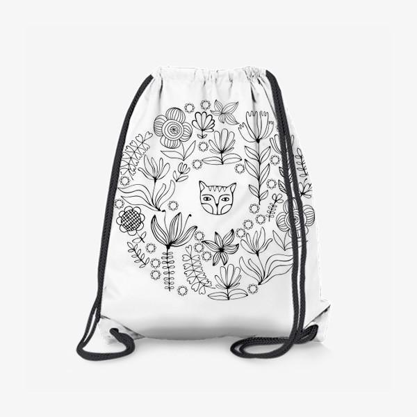 Рюкзак «Цветочный круг»