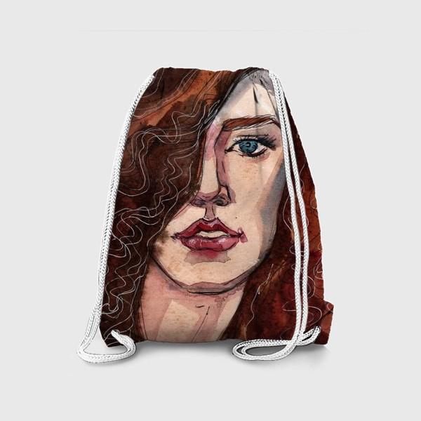 Рюкзак «Модель. Fashion illustration»