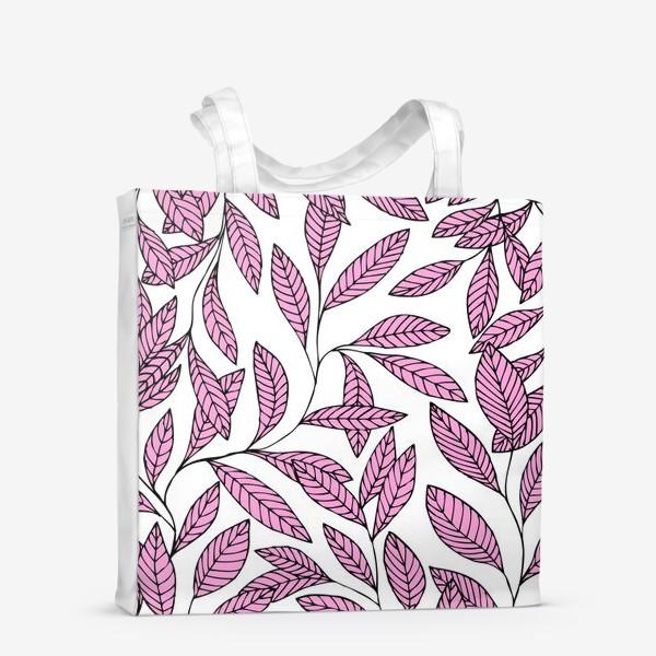 Сумка-шоппер «Нежные розовые ветки»