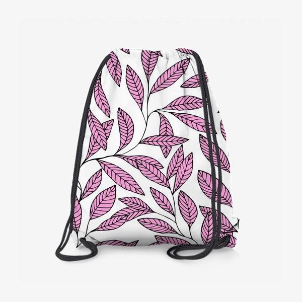 Рюкзак «Нежные розовые ветки»