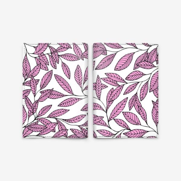 Обложка для паспорта «Нежные розовые ветки»