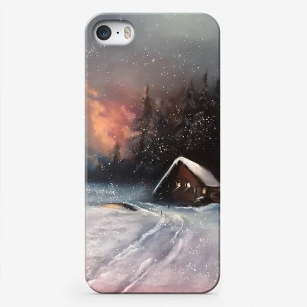 Чехол iPhone «Зимушка зима»