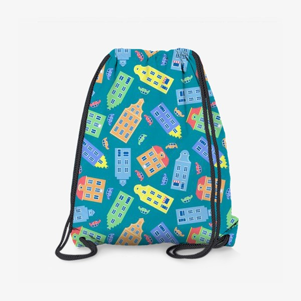 Рюкзак «Домики»