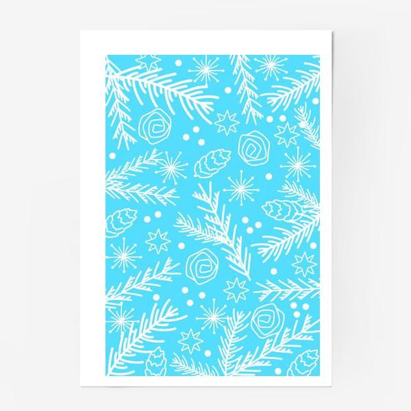 Постер «Зимний узор»