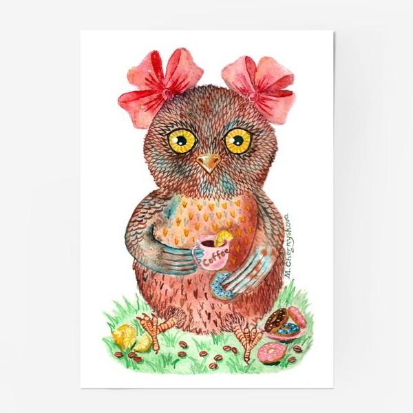Постер «Совушка»
