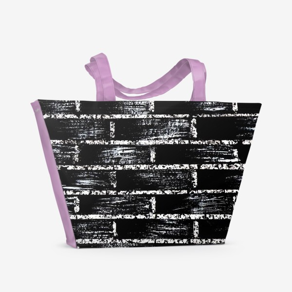 Пляжная сумка «кирпичная стена»