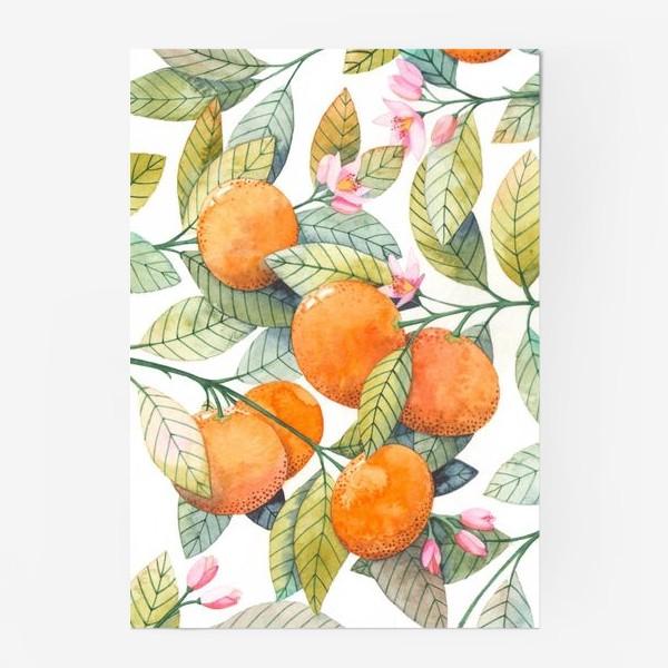 Постер «мандаринки»