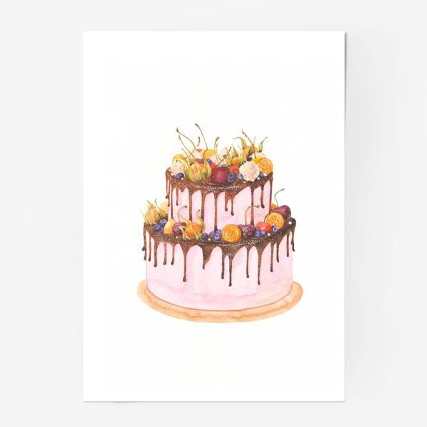 Постер «торт»