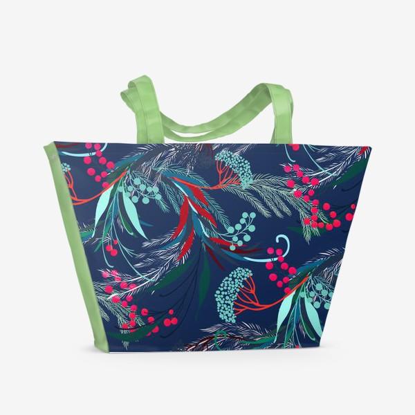 Пляжная сумка «узор»