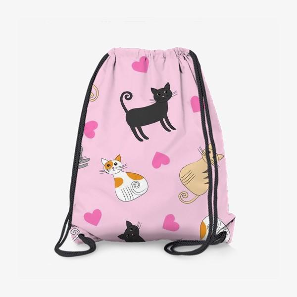 Рюкзак «Влюбленные котики»
